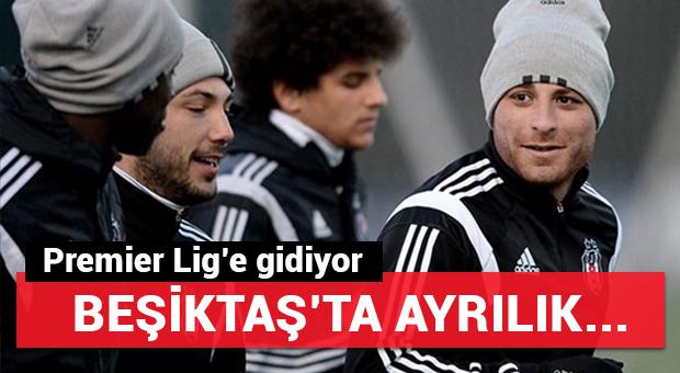 Beşiktaş'ta ayrılık...