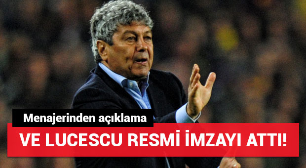 Lucescu Zenit'e imza attı!