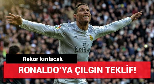 Paris Saint-Germain'den Ronaldo'ya çılgın teklif!