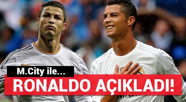 Ronaldo'dan flaş M.City açıklaması!