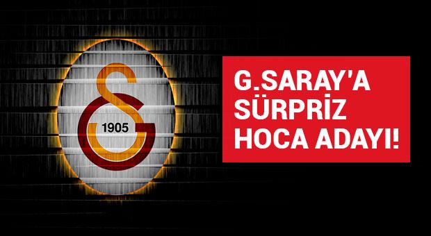 Galatasaray'a sürpriz hoca adayı!