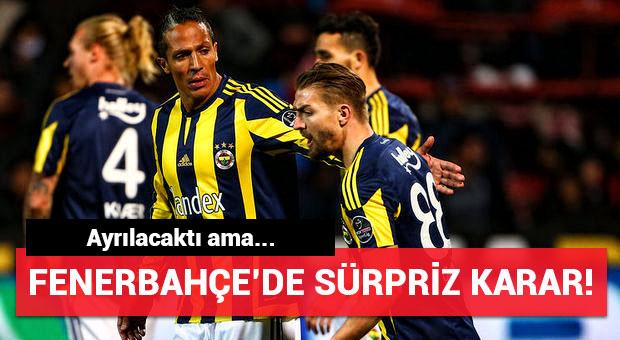 Fenerbahçe'den şaşırtan Bruno Alves kararı!