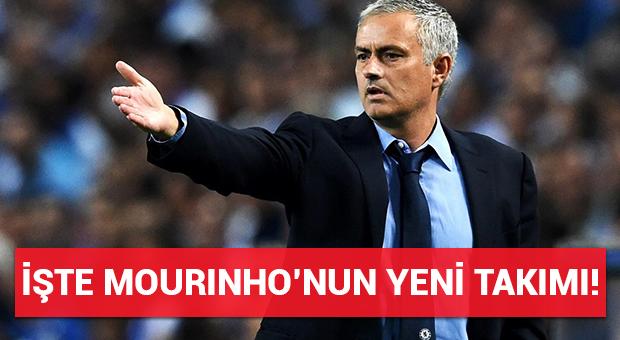 İşte Mourinho'nun yeni takımı