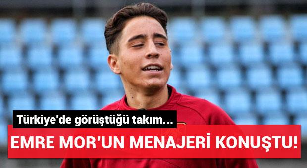 Emre Mor'un menajerinden Beşiktaş açıklaması!