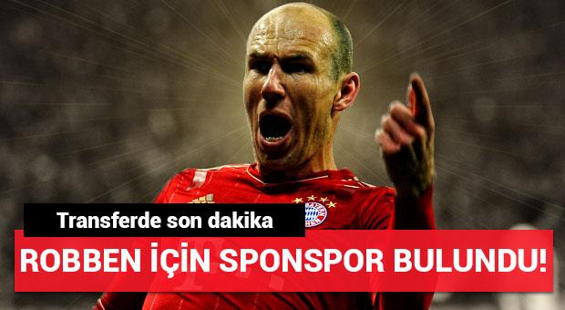 Arjen Robben için sponsor bulundu