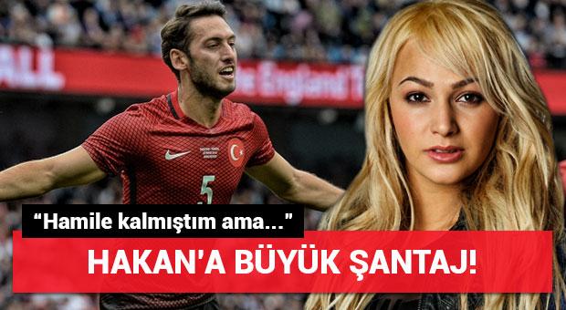 Milli yıldızımız Hakan Çalhanoğlu'na şantaj!