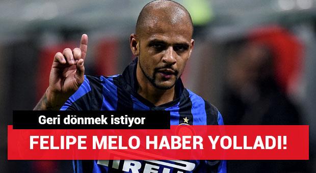 Felipe Melo'dan haber var! Geri dönmek istiyor...