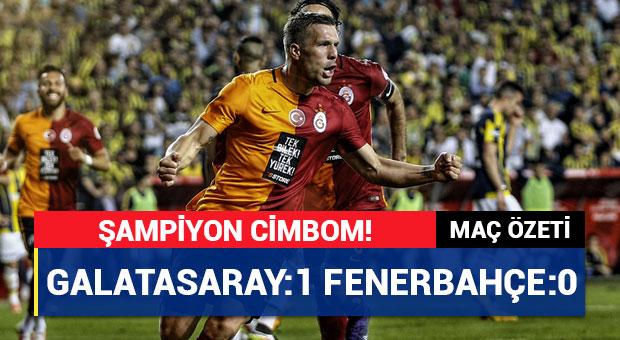 Türkiye Kupası yine Galatasaray'ın!