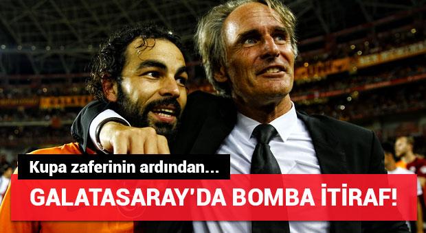 Galatasaray'ın hocası Riekerink'ten sürpriz itiraf!