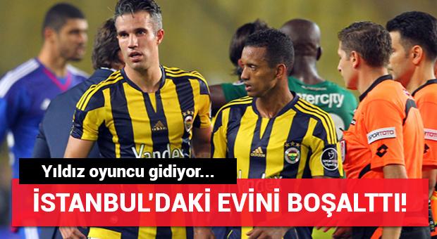 Fenerbahçe'nin yıldızı İstanbul'daki evini boşalttı! Gidiyor...