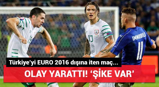 Türkiye'yi EURO 2016 dışına iten maç olay yarattı! 'Şike var'