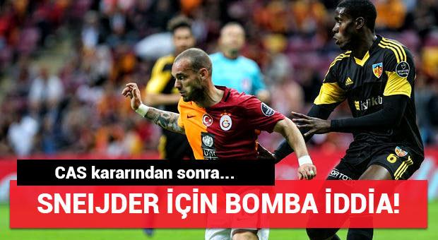 Premier Lig ekibinden Sneijder'e kanca!