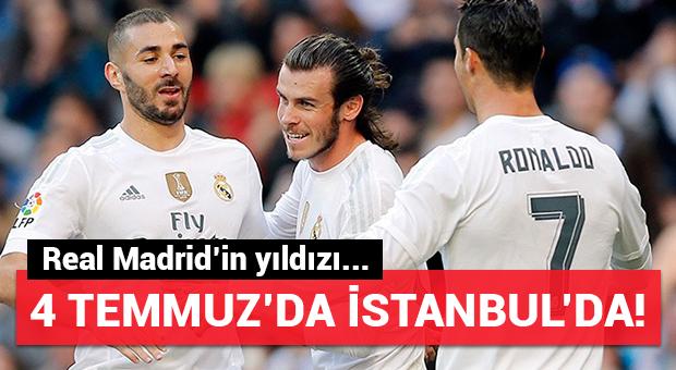 Real Madrid'in yıldızı İstanbul'a geliyor...