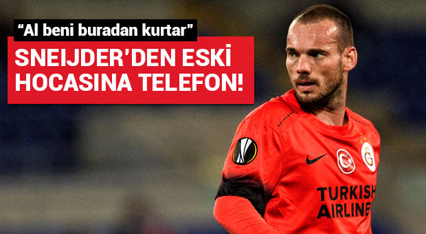 Wesley Sneijder'den eski hocasına telefon!
