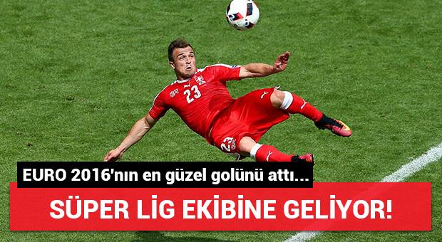 Süper Lig'e geliyor!