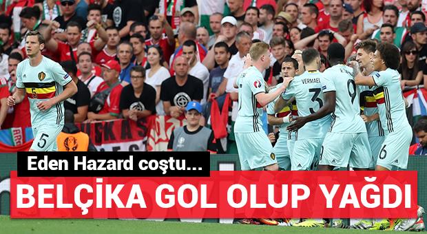 Belçika gol olup yağdı!