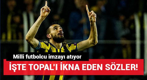 Mehmet Topal'ı ikna eden sözler!