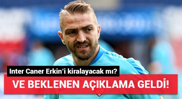 Inter ve menajerinden Caner Erkin açıklaması!