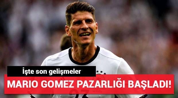 Mario Gomez transferi için pazarlıklar başladı!