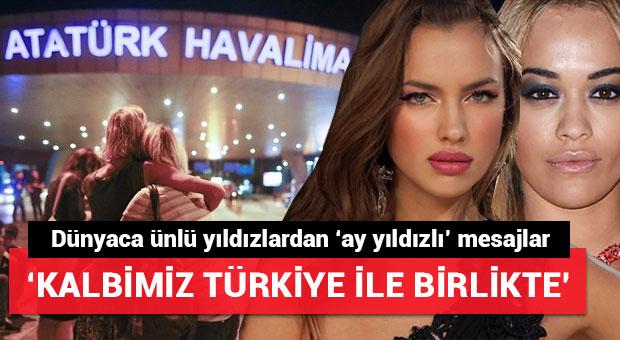 Dünyaca ünlü yıldızlardan 'İstanbul' mesajı
