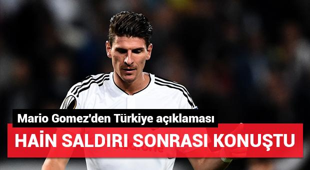 Mario Gomez'den Türkiye açıklaması!