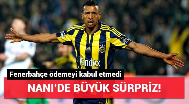 Fenerbahçe Valencia'nın Nani ödemesini kabul etmedi!
