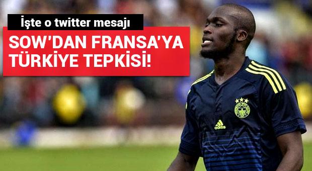 Moussa Sow'dan Fransa'ya Türkiye tepkisi!