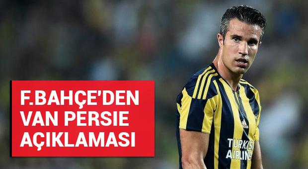 Fenerbahçe'den Van Persie açıklaması!