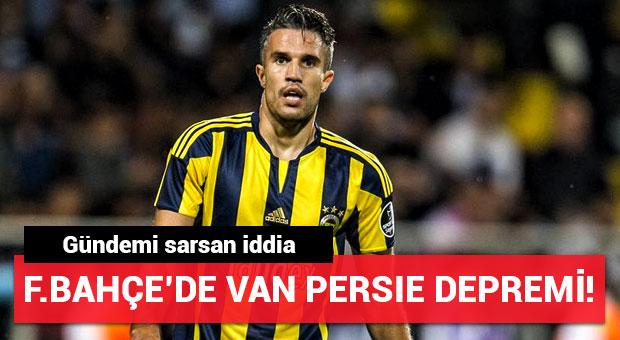 Fenerbahçe'de Van Persie Çin'e gidiyor