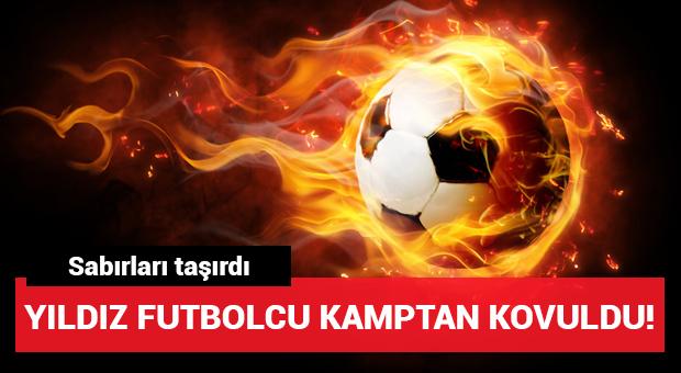 Beşiktaş'ta Jose Sosa kamptan gönderildi!