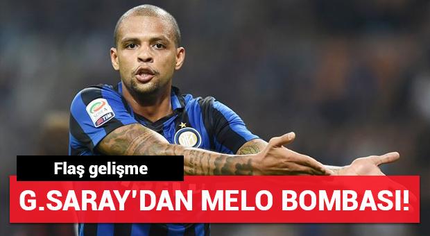 Galatasaray'dan Felipe Melo bombası!