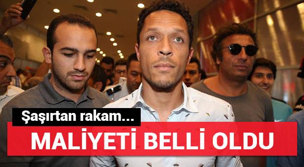 Adriano'nun Beşiktaş'a maliyeti belli oldu