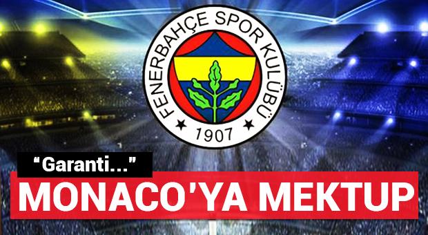 Fenerbahçe için Monaco'ya hükümet garantisi!