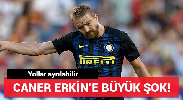 Caner Erkin'e büyük şok!