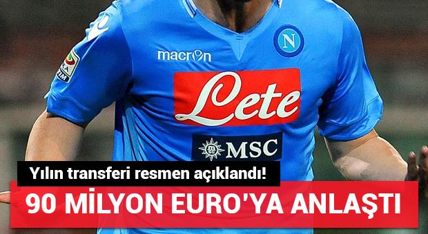 Juventus Higuain'i duyurdu