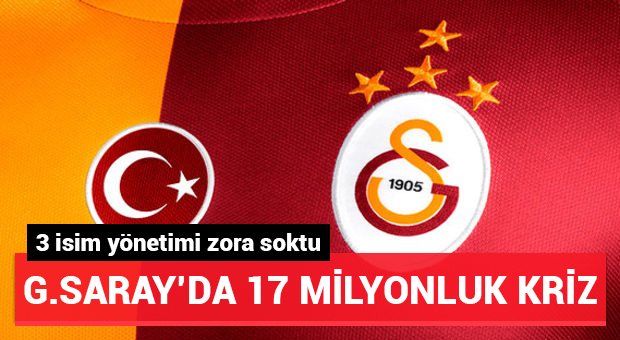 3 futbolcu Galatasaray'da yönetimi zora soktu