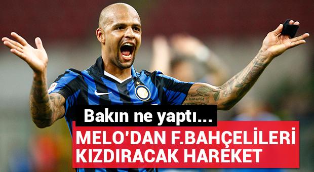 Melo'dan Fenerbahçelileri kızdıracak hareket!