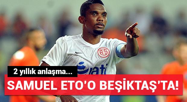Samuel Eto'o Beşiktaş'ta!