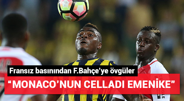 """Monaco'nun celladı Emenike"""