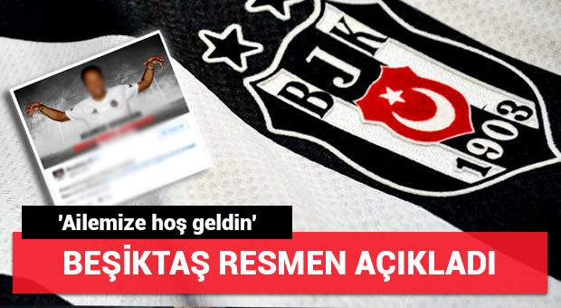 Beşiktaş, transferi açıkladı...