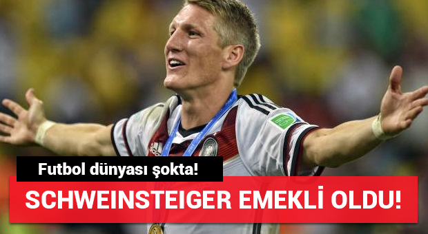 Futbol dünyasında Schweinsteiger şoku!