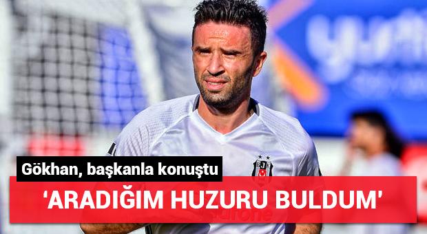 Gökhan Gönül huzuru Beşiktaş'ta buldu