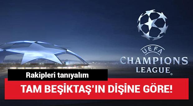 Tam Beşiktaş'ın dişine göre grup! Rakipleri tanıyalım...