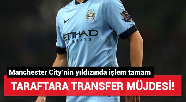 Taraftara transfer müjdesi! Manchester City'nin yıldızında işlem tamam...