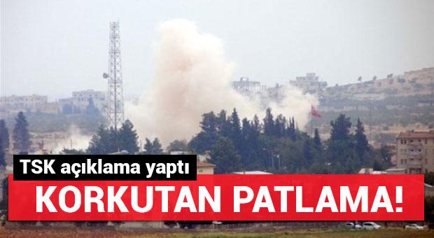 Korkutan patlama