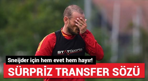 Sneijder için transfer açıklaması!