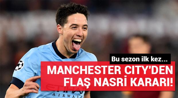 Samir Nasri Manchester City'de ilk kez kadroya alındı