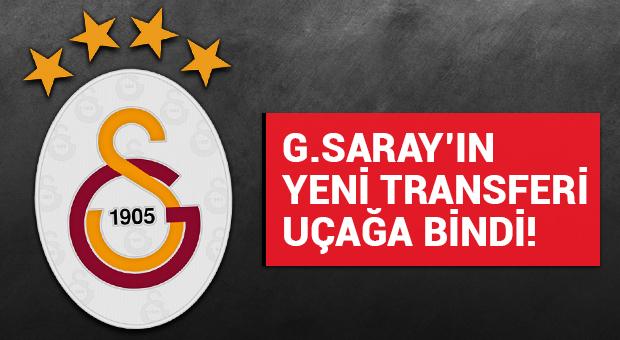 Galatasaray'ın yeni transferi uçağa bindi! 16.30'da İstanbul'da...