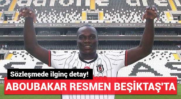 Beşiktaş Vincent Aboubakar'ı resmen açıkladı!