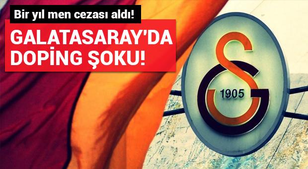 Galatasaray'da Stephane Lasme'ye doping şoku